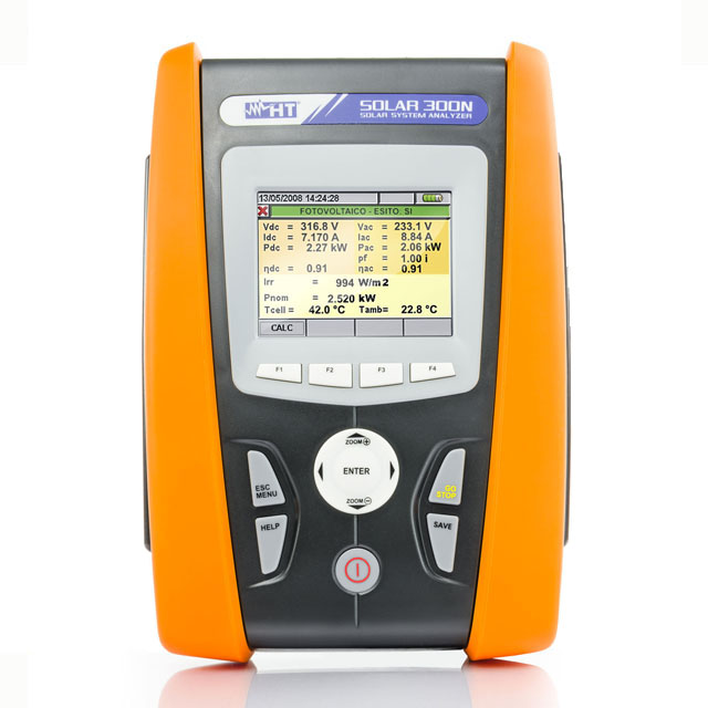 SOLAR300N光伏系统效率及电能质量分析仪逆变器效率PRP值
